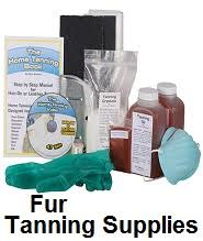 fur processing tanning supplies