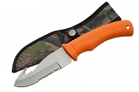 Guthook Hunting Knife Orange Handle