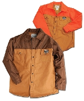 Brown and Orange Hunting Shirts