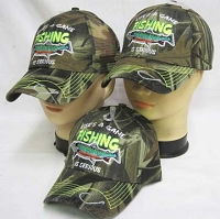 Life's A Game Fishing Is Serious Hat