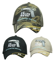 .45 ACP Hat Because Shooting Twice is Silly Cap