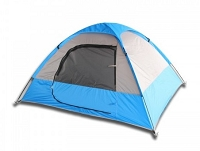 2 Person Camping Tent - Blue or Red