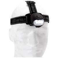Wind-Up LED Headlamp No Batteries Needed