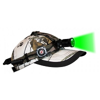 Hunting Headlamp with Green LED Light