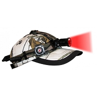 Hunting Headlamp with Red LED Light