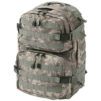 Camo Water-Repellent Backpack