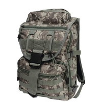 Camo Water Repellent Backpack