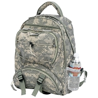 Camo Backpack Water Repellent