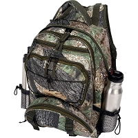 Tree Camo Water-Resistant Backpack