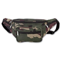 Camo Water Repellent Waist Bag