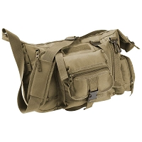 Drab Green Tactical Style Shoulder Bag
