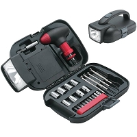 25 Piece Tool Set with Flashlight