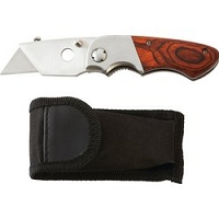 Maxam Folding Razor Knife with Blades