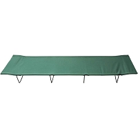 Green Foldable Sleeping Camping Cot