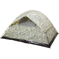 Camo Water Resistant 6 Person Tent