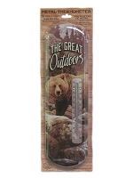 The Great Outdoors Metal Thermometer