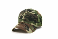 Military Camo Adjustable Strap Cap