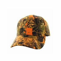 Orange Camo Hat Hunting Cap