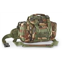 Shooter's Shoulder Bag Woodland Camo