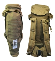 Tactical Assualt Bag with Rifle Holder
