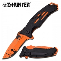 Hunter Spring Assisted Knife Orange