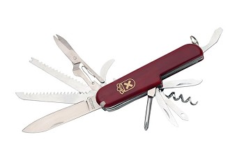 13 Multi Function Tool Knife Red