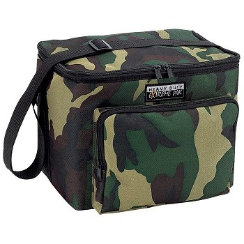 Camouflage Heavy-Duty Cooler Bag