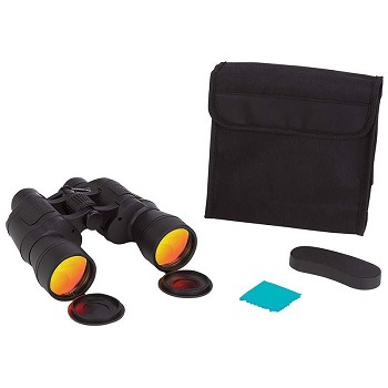10 x 50 Binoculars with Ruby Red Coated Lenses