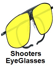 shooting eyeglasses