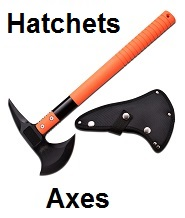 axes hatchets