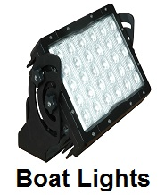 boat hunting lights