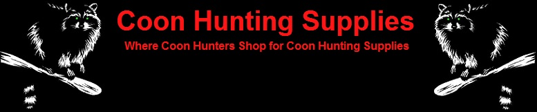 Coon Hunting Supplies, Lights, Gear, Equipment