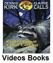 coon hunting videos books
