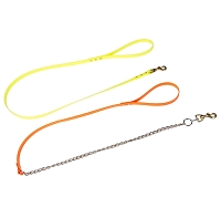 "3/4"" Dayglo Dog Lead Leash with Chain"