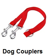 coon dog leash couplers