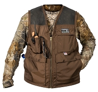 Dog Days Warm Weather Brown Hunting Vest