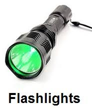 hunting flashlights