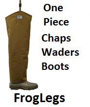 froglegs hunting waders chaps