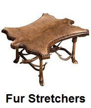 coon fur stretchers
