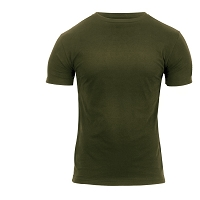 Athletic Fit Olive Drab T-Shirt