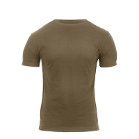 Athletic Fit Coyote Brown T-Shirt