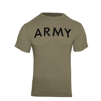 AR 670-1 Coyote Brown Army T-Shirt