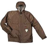 Sportsman's Choice Brown Hunting Jacket with Hood