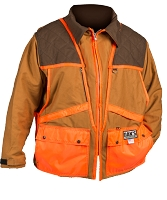 Brown/Orange Upland Game Hunting Jacket