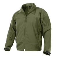 Covert Ops Lightweight Soft Shell Olive Drab Jacket