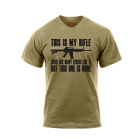 This Is My Rifle Brown T-Shirt