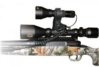 F6 Gun Scope White LED Hunting Light