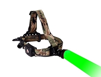 Wireless Remote Single Green Light Headlamp