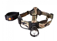 Wireless Remote Single Color Beam Headlamp