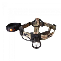 Wireless Remote Single White Light Headlamp